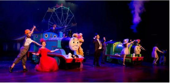 正版授权大型实景舞台剧《托马斯和他的朋友-迷失宝藏》