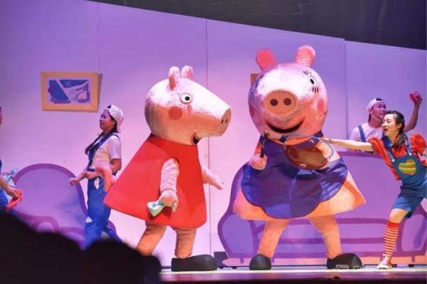 正版授权 小猪佩奇中文版舞台剧《佩奇欢乐派对》