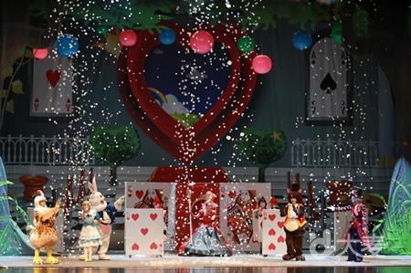【广州站】【小橙堡】经典幻想童话剧《爱丽丝梦游泡泡仙境》