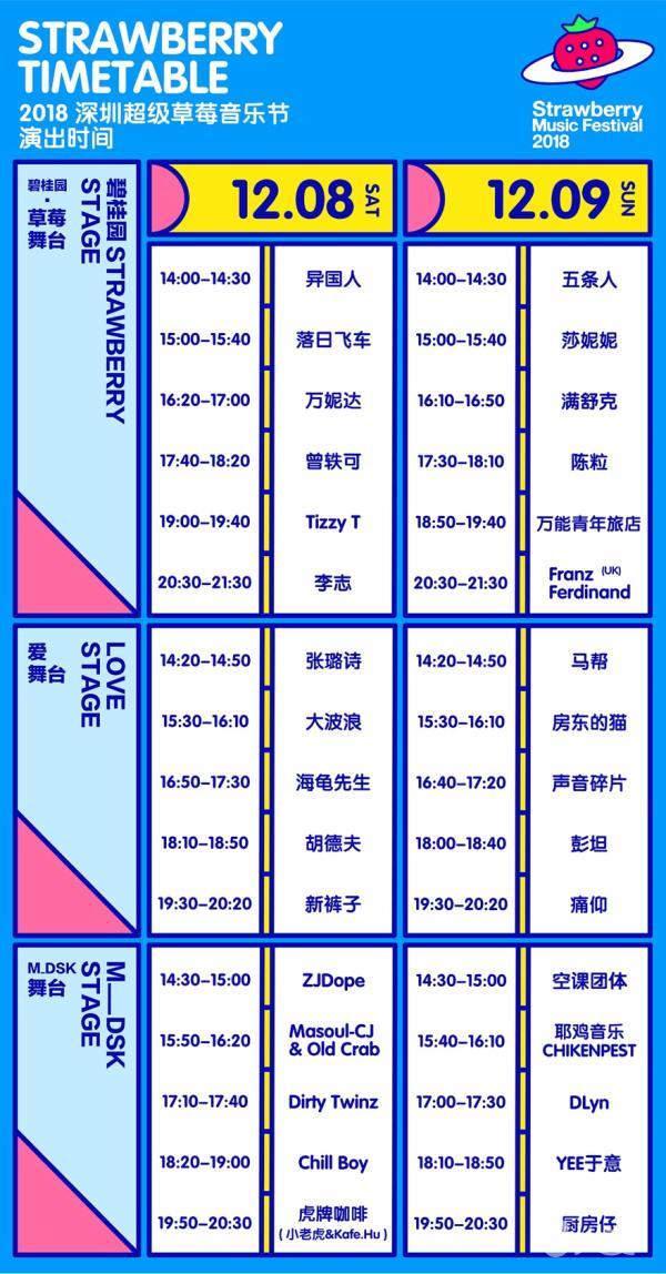 2018广东双城超级草莓音乐节广州站 暨长隆度假区岁末狂欢派对