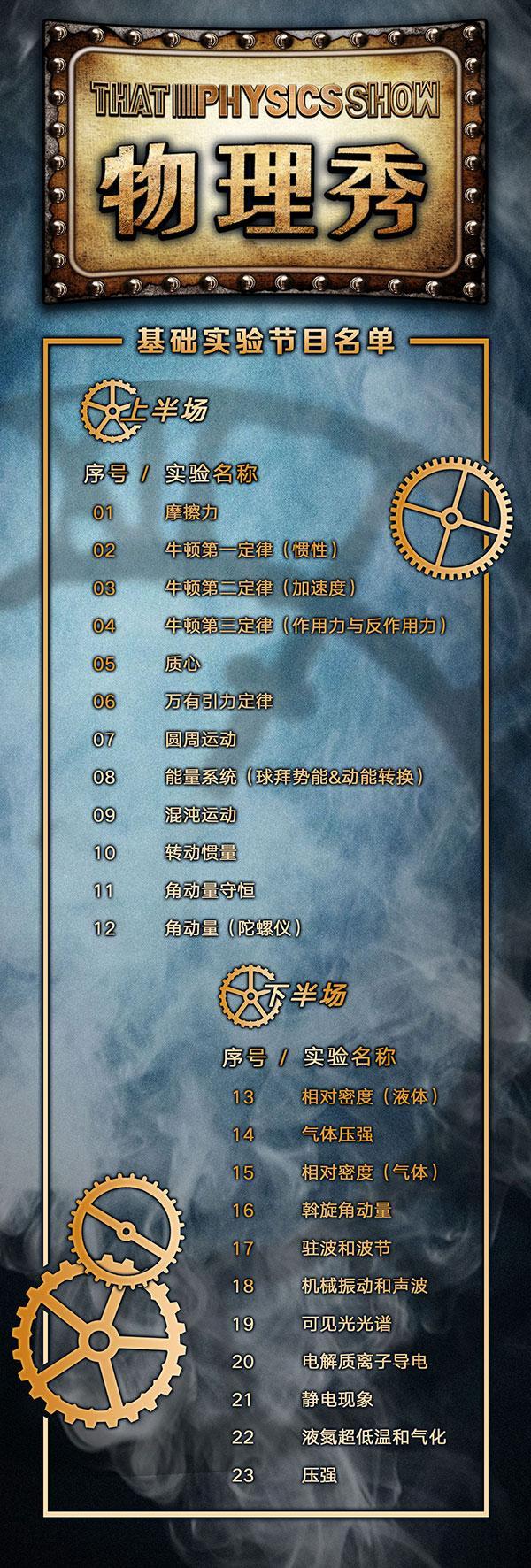 大船文化·百老汇互动亲子科学剧《物理秀》中文版-苏州站