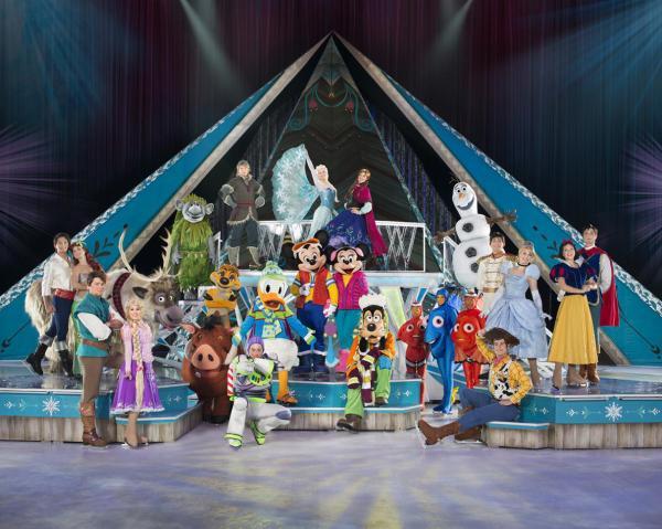 """【上海站】""""冰上迪士尼·冰雪奇缘""""2019巡演"""