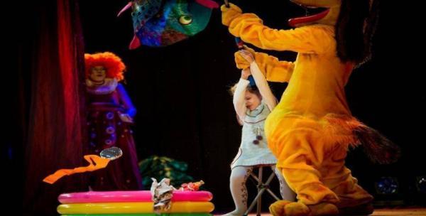 儿童剧《动物马戏团》