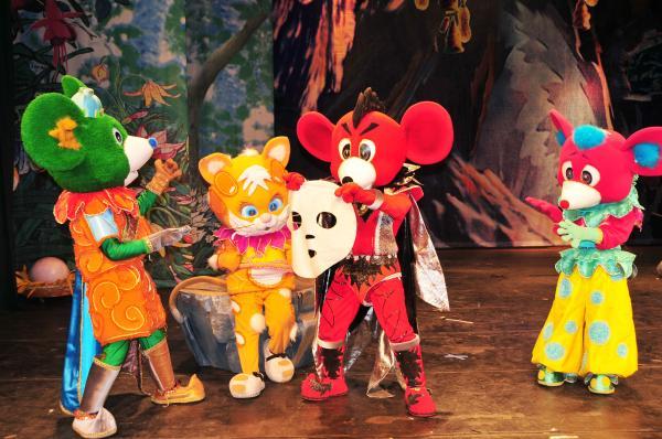 天津.2月儿童剧《猫和老鼠》
