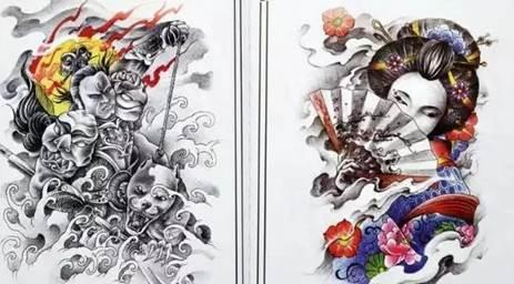 翼树纹坛 纹身手稿系列展 ARTREE TATTOO FORUM TATTOO MANUSCRIPT SERIES EXHIBITION