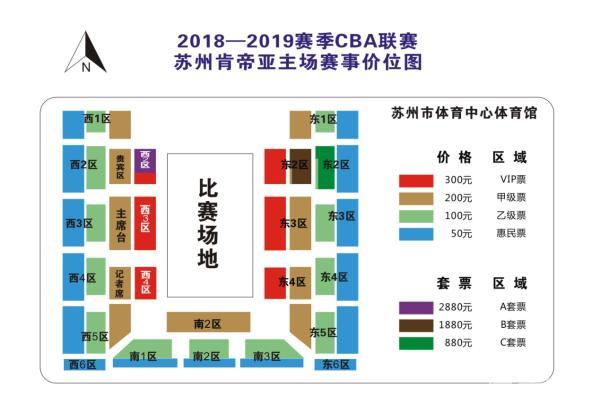 【苏州站】2018-2019赛季CBA联赛 苏州肯帝亚VS山东西王