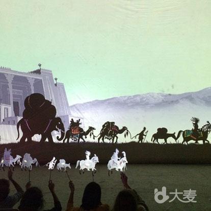 奇幻真人科技影戏《火之羽》