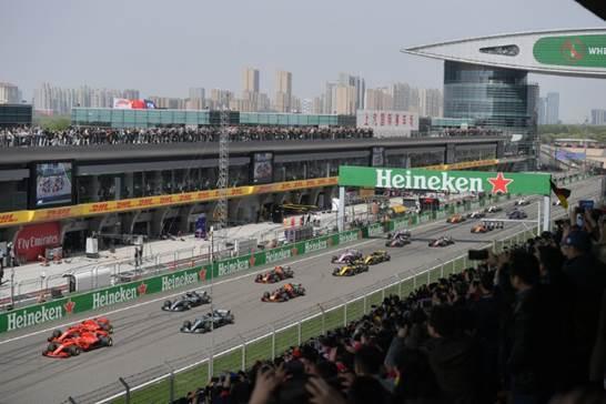 【上海站】F1 2019 FORMULA1 中国大奖赛(家庭票)