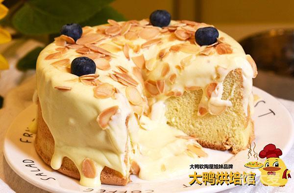 大鸭烘焙爆浆海盐芝士蛋糕4选1